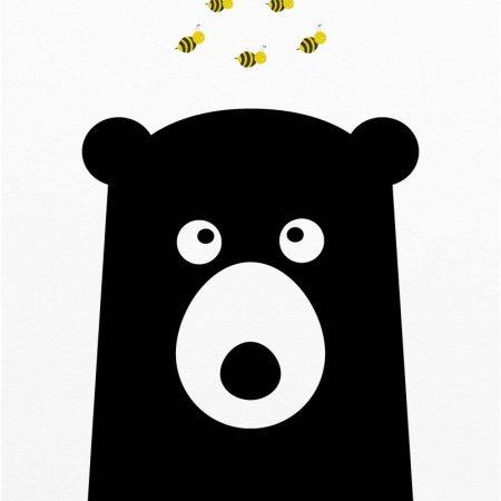 bear_with_bees_nursery_wall_art_cm